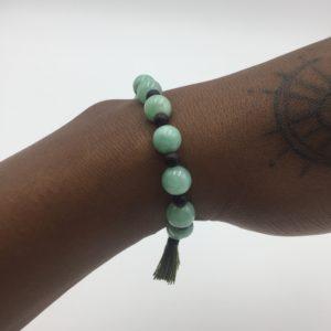 Bracelet Unisexe Jade vert